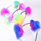 Popular Multi Color Pom Pom Fashion Headbands .54 each
