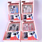 Stereo Headphones Asst Colors 12 per pk $ 1.25 ea