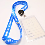 "36"" Guatemala Lanyards w/ Retractable ID Tag 12 per pk .56 ea"