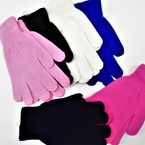 Nice Quality Knit Winter Magic Gloves  6 colors .60 per pair