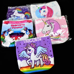 "4"" Unicorn Theme Zipper Coin Purses 12 per pk .55 each"