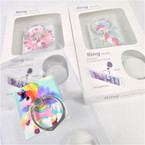 Unicorn Theme Square Ring Hook Phone Holders 12 per pk .56 each