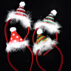 So Cute Faux Fur Fun Christmas Headbands 4 styles .58 each