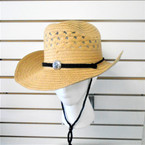 Straw Cowboy Hats 4 colors per dz $ 1.35 each