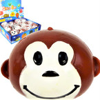 "Novelty 3"" Splat Ball Monkey Theme 12 per display .54 each"