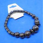 Magnetic Hematite Fashion Bracelet (03) .58 each