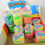 "3"" New Colorful Magic Cotton Sand Asst Colors  12 per display bx .58 each"