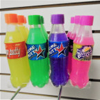 "5"" Mock Soda Bottle Slime Putty Asst Colors 12 per unit  .56 each"