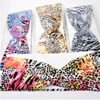 "Trending 3"" Stretch Headband Cool Animal Prints  (5585)  .54 each"