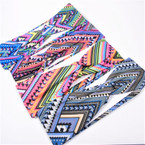 "Trending 2.75"" Stretch Headband  Asst  Prints  (023)  .54 each"