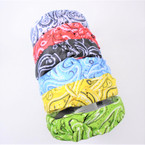 Bandana Print w/ Knot Fashion Headbands Asst Colors .54 each