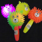 "5.5"" Neon Color Flashing Tiger Wand 12 per display bx .56 each"