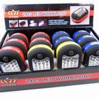 27 LED Flash Light 3 in 1 Use SUPER Brite 12 per display bx $ 2.75 ea Coming This Week