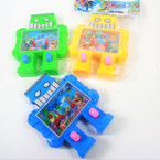 "5"" Robot Theme Water Toy Game Asst Colors .62 each"
