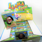 Hatch Your Own LAMA Egg 1-dz counter display bx .79 ea