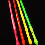 "18"" Asst Color Lite Up Flashing Wands 12 per pk .54 each"