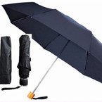 "10"" Black Portable Umbrellas in sleeve sold by pc  $ 1.95 each"