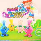 "3.5"" Wind Up Rabbit Baby Asst Color 12 per display bx .58 each"