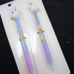 """7"""" 3 Color Ink Unicorn Pens 12 per pk .58 each"""