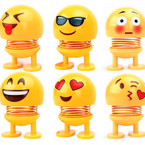 """3"""" Emoji Theme Spring Dolls Mixed Style  ind. Boxed .60 each"""