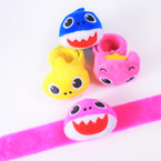 Fury Cute Shark/Bear Fun Slap Bracelets 12 per pk .55 each