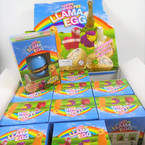 Hatch Your Own LLAMA Egg 1-dz counter display bx .79 ea