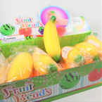 "5"" Soft & Squeezy Yellow Banana 12 per display bx .58 each"
