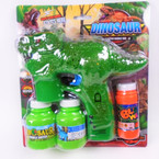 "7"" X 8"" Green Dinosaur Light & Sound Bubble Guns sold by pc $ 3.75 ea"