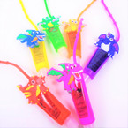 "4"" Mixed Dragon Theme Glitter Fruit Lip Gloss 12 per pk .56 each"