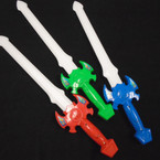 "21"" Lite Sword w/ Bong Sound Asst Colors 12 per pk $ 1.20 each"