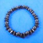 Magnetic Hematite Fashion Bracelet (14) .58 each