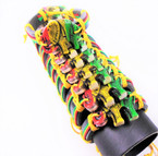 Teen Leather Bracelet w/ Ratsa Colors w/  Elephants   .54 ea