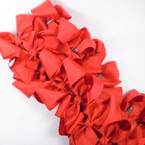 "SPECIAL 5"" Gator Clip Bows Red  Color 24 per pk ONLY .32 each"