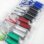 "2"" Asst Color Flashlight Carabiner  Clip  12 per pk .58 each"