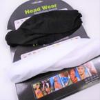 Multifunctional Scarf/Headwear  Black & White   .58 each