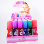 Roll On Fruit Favor Kissing Lip Glow 36 per display  .45 each