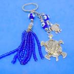 "4"" Triple Line Turtle Theme Bracelet w/ Glass Eye Beads .56 each"