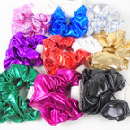 2 Pack Good. Size Metallic Scrunchies  9 colors per pk .55 per pk