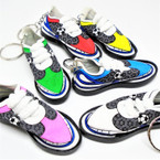 Laced Up Great Quality Soccer Shoe Key chains 12 per pk .54 each