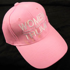 Lite Pink Embroided Women for Trump Baseball Caps sold by pc $ 3.00 per hat