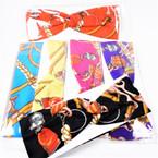 """3"""" Designer Print Look Stretch Headbands Asst Colors (782) 12 per pk    .58 each"""