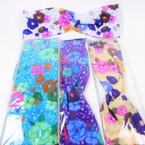 """3"""" Flower  Print Stretch Headbands Asst Colors (776) 12 per pk    .58 each"""