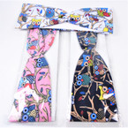 "3"" Wide Owl Theme Stretch Headbands Asst Colors (759) 12 per pk    .58 each"