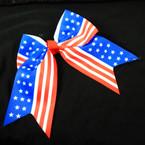 "6"" USA Stars & Stripes Tail Gator Clip Bows .54 each"