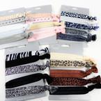 5 Pack Asst Design Bracelet/Ponytailers (058)  .58 per set