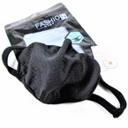 New Black Fabric  Reusable Protective Face Mask  12 per pk $ 1.50 each