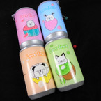 """3.25"""" Tall Soda Can Cool Love Fruit Theme Keychain  w/ Wet Wipes .65 each COMING 6/2"""