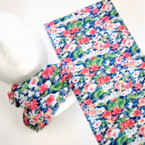 Multifunction Face Mask Scarf Flower  Print  (57E) 10 per pk .75 each