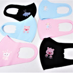IN STOCK  KIDS Face Masks Washable & Reusable w/ Mixed Prints .80  each