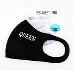 Black w/ Queen Saying Face Masks Washable & Reusable 12 per pk  $1.25 each